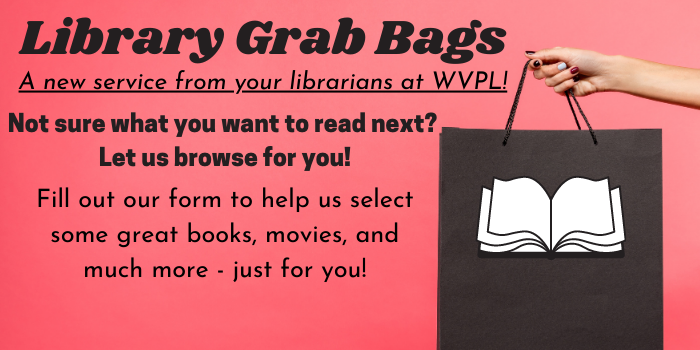 WVPL library grab bag service